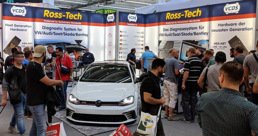 Ross-Tech Automechanika, Bild Copyright by Santos